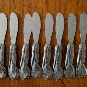 Other - Seagull Pewter Cheese Knife Set